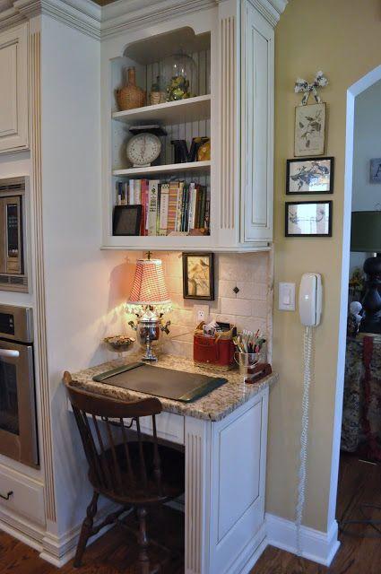 Small Kitchen Desk  58 best images about Kitchen Desks on Pinterest