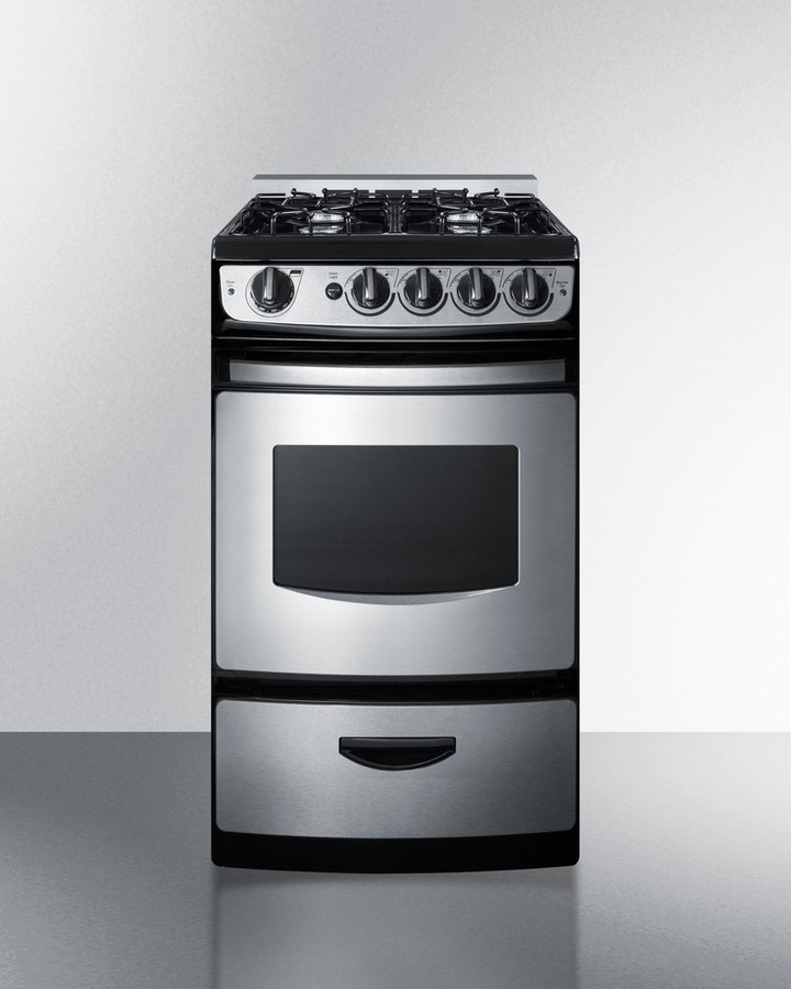 """Small Kitchen Range Best Of Summit Pro200ssrt 20"""" Slide In Gas Range for Use In Small"""