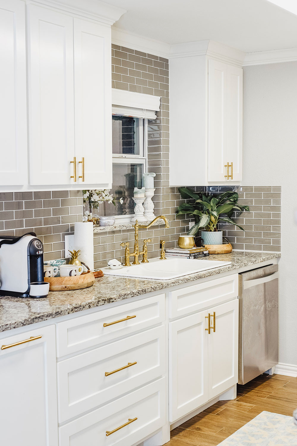 Small Kitchen Sink Cabinet Best Of Our Kitchen Sink Woes Our Small Kitchen Reveal