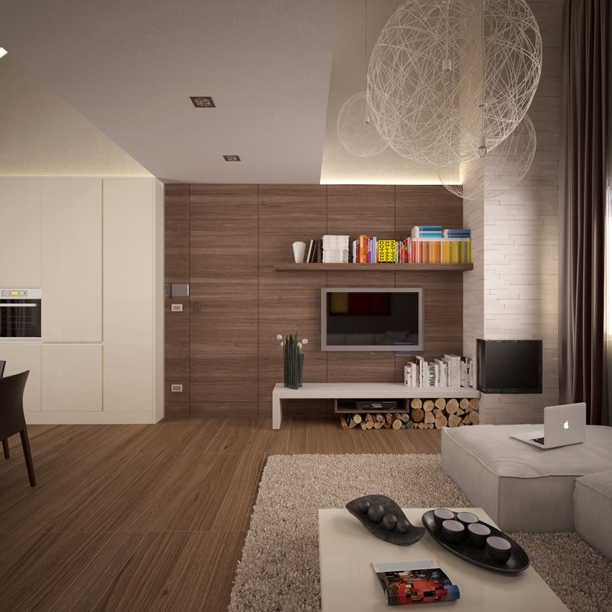 Small Modern Living Room  Small Apartments