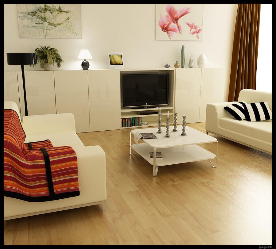 Small Modern Living Room  Modern Living Rooms