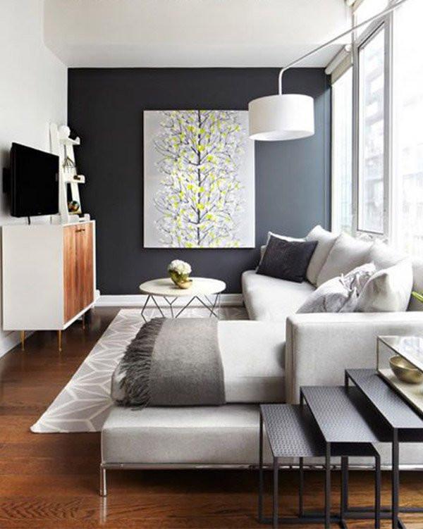 Small Modern Living Room  Modern Living Room Decoration Ideas