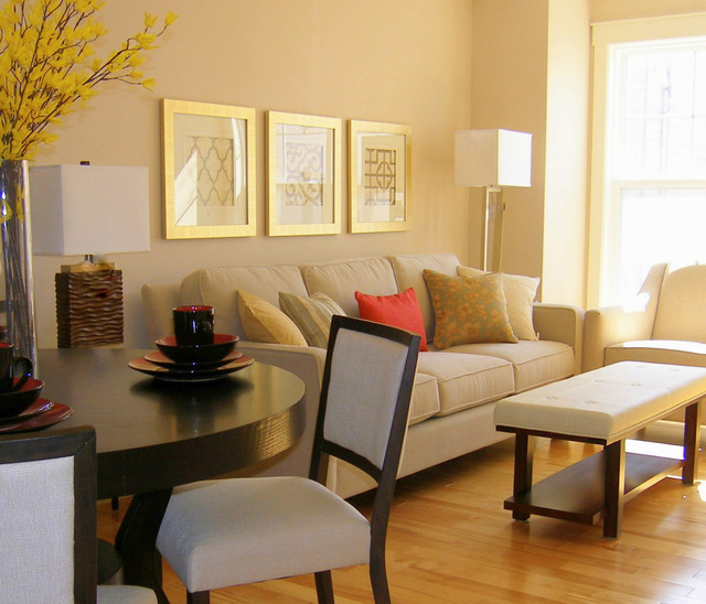 Small Modern Living Room  Small Condo Livingroom Modern Living Room Other by
