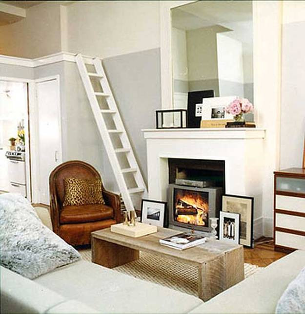 Small Modern Living Room  10 Space Saving Modern Interior Design Ideas and 20 Small