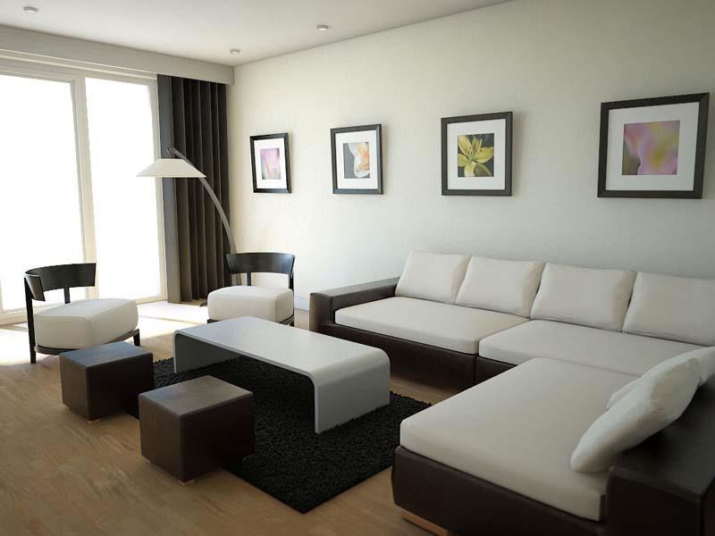 Small Modern Living Room  74 Small Living Room Design Ideas
