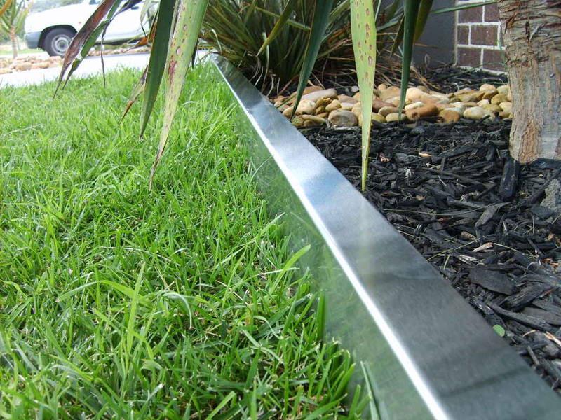 Steel Landscape Edging  Choose The Steel Landscape Edging Garden Edging Ideas
