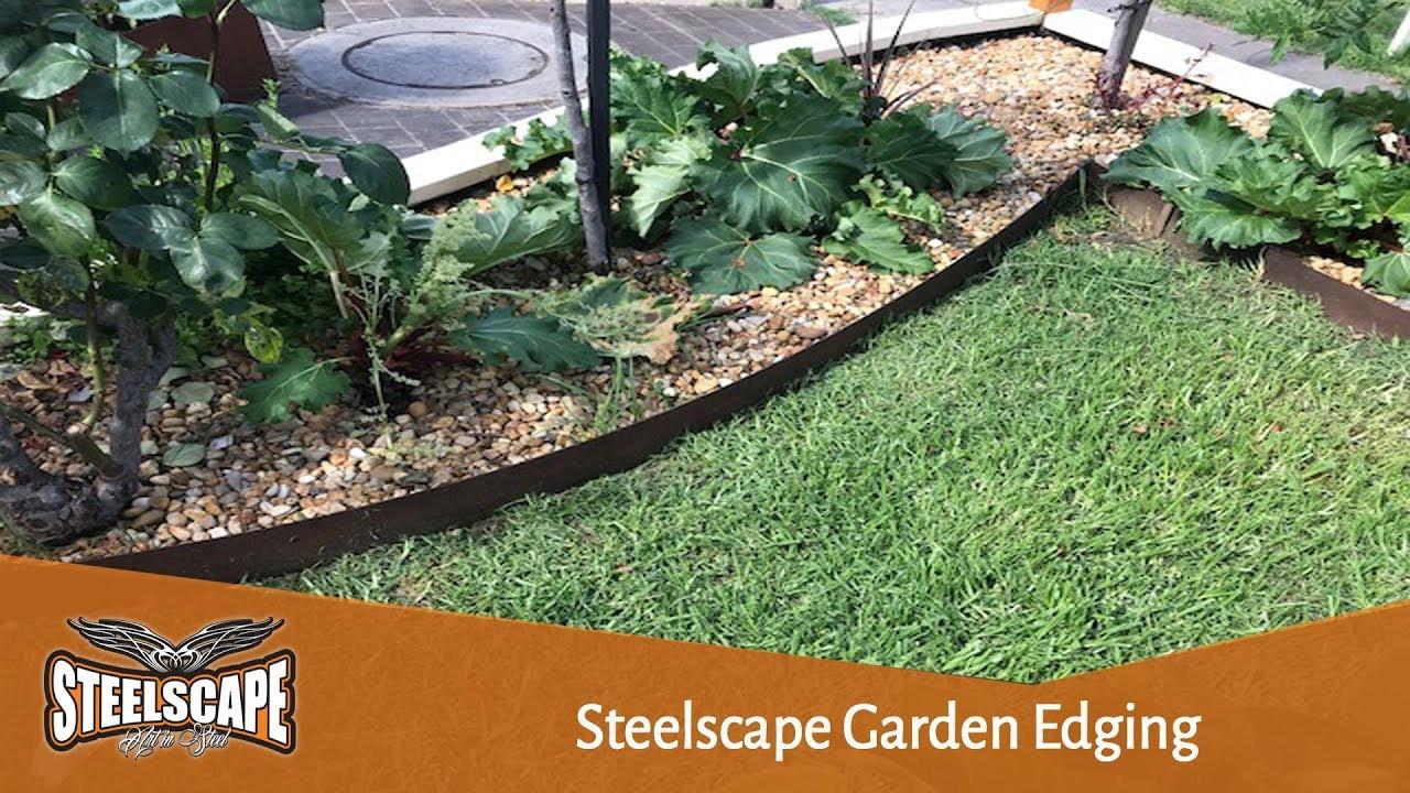 Steel Landscape Edging  Metal Garden Edging corten steel