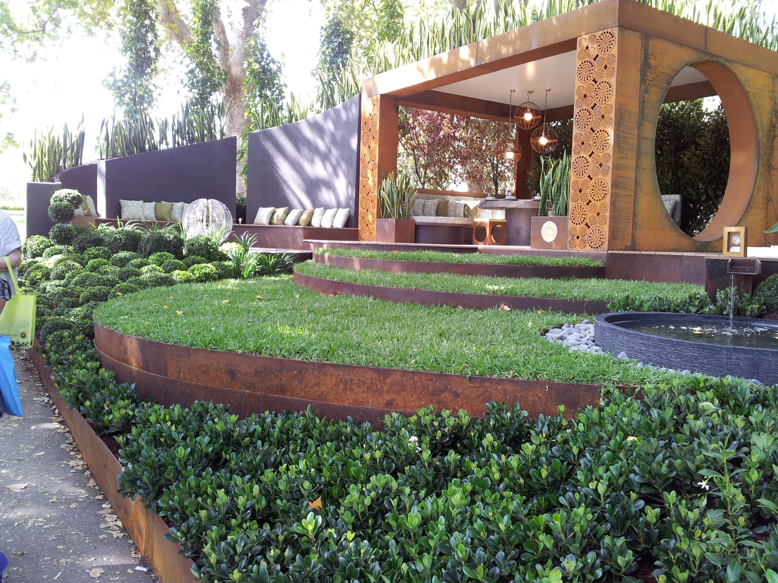 Steel Landscape Edging  FormBoss Metal Garden Edging The Australian Made Campaign