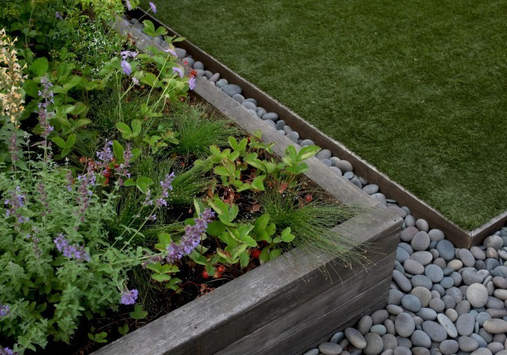 Steel Landscape Edging  Hardscaping 101 Metal Landscape Edging Gardenista