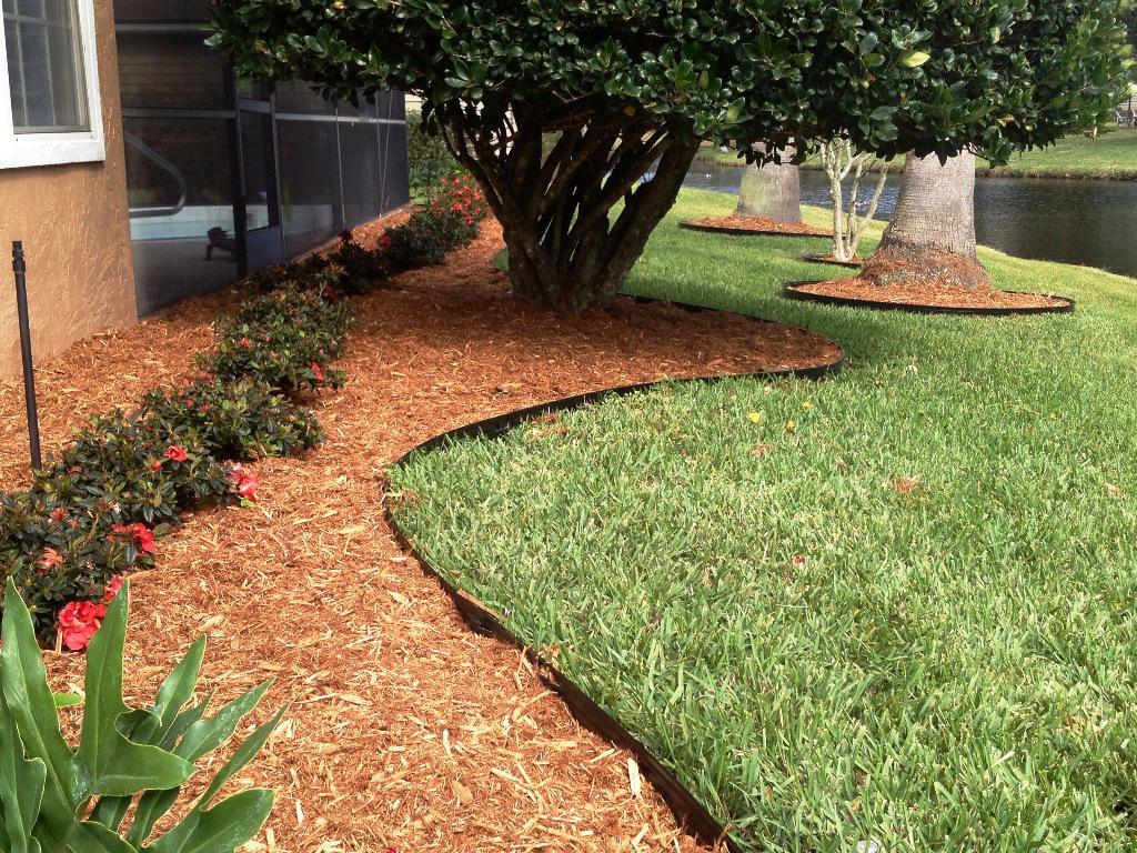 Steel Landscape Edging  Metal landscape edging to add elegance to your garden