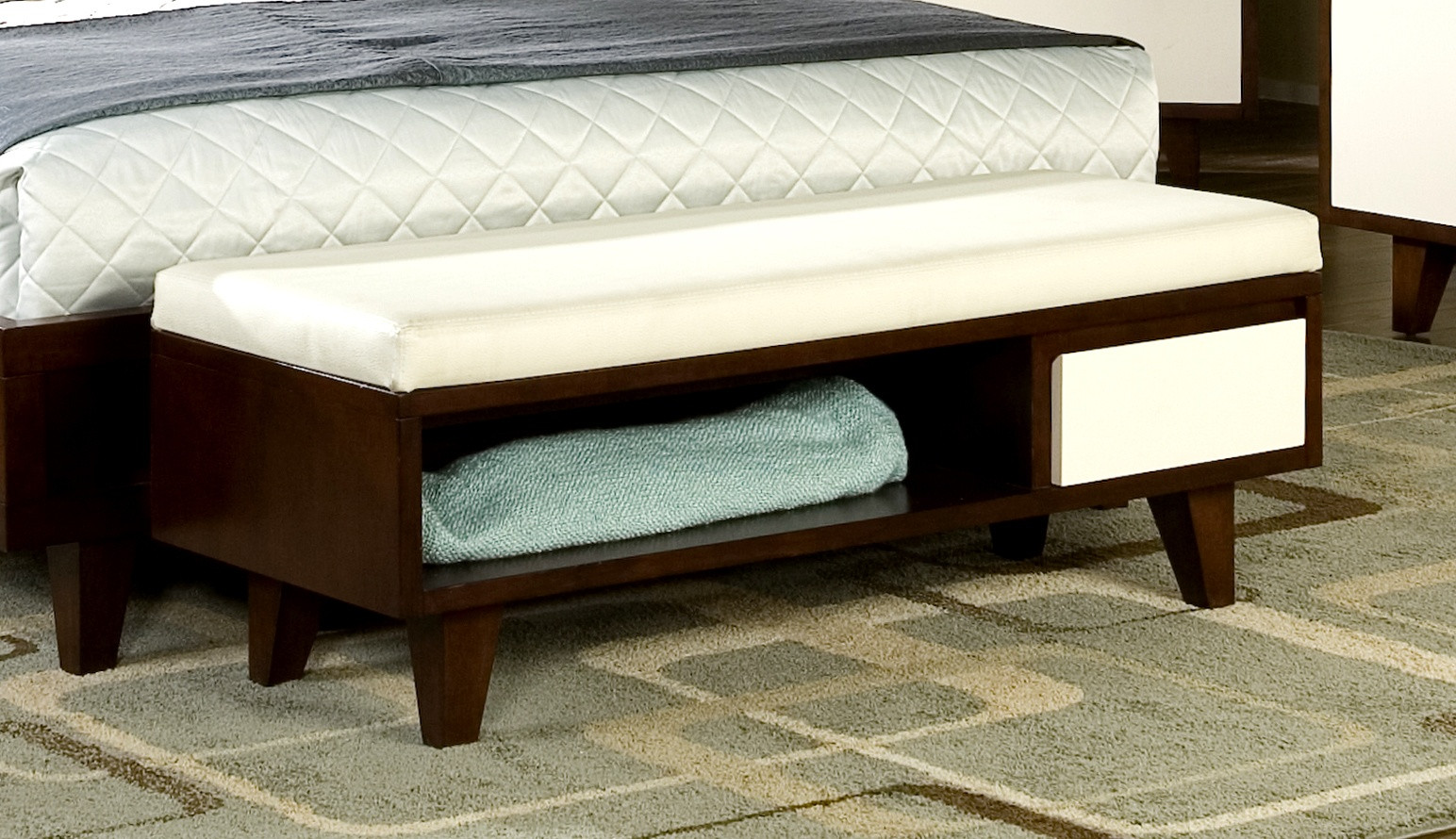 Storage Bench Bedroom  Bedroom Benches with Storage Ideas – HomesFeed