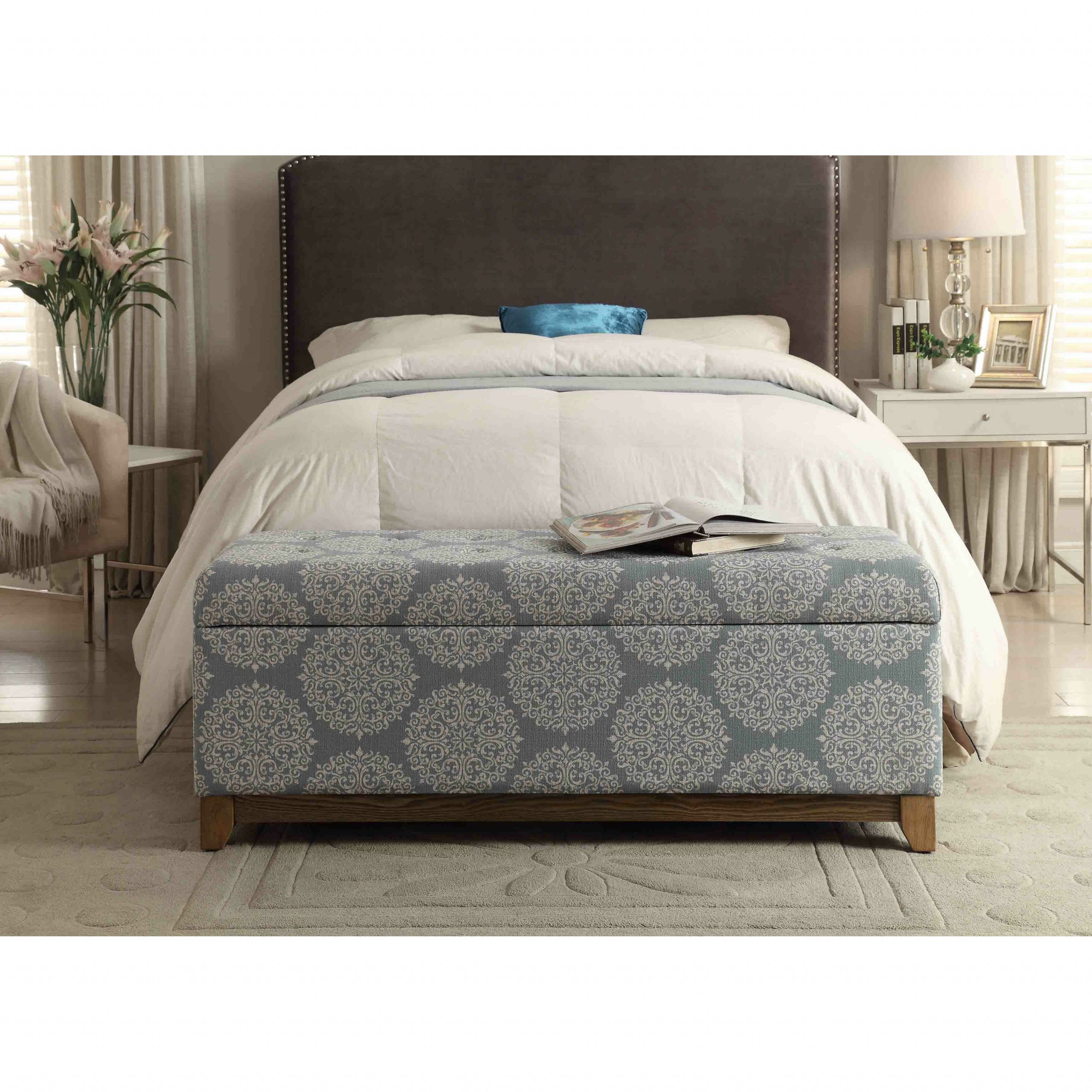 Storage Bench Bedroom  Bungalow Rose Navya Wood Storage Bedroom Bench & Reviews