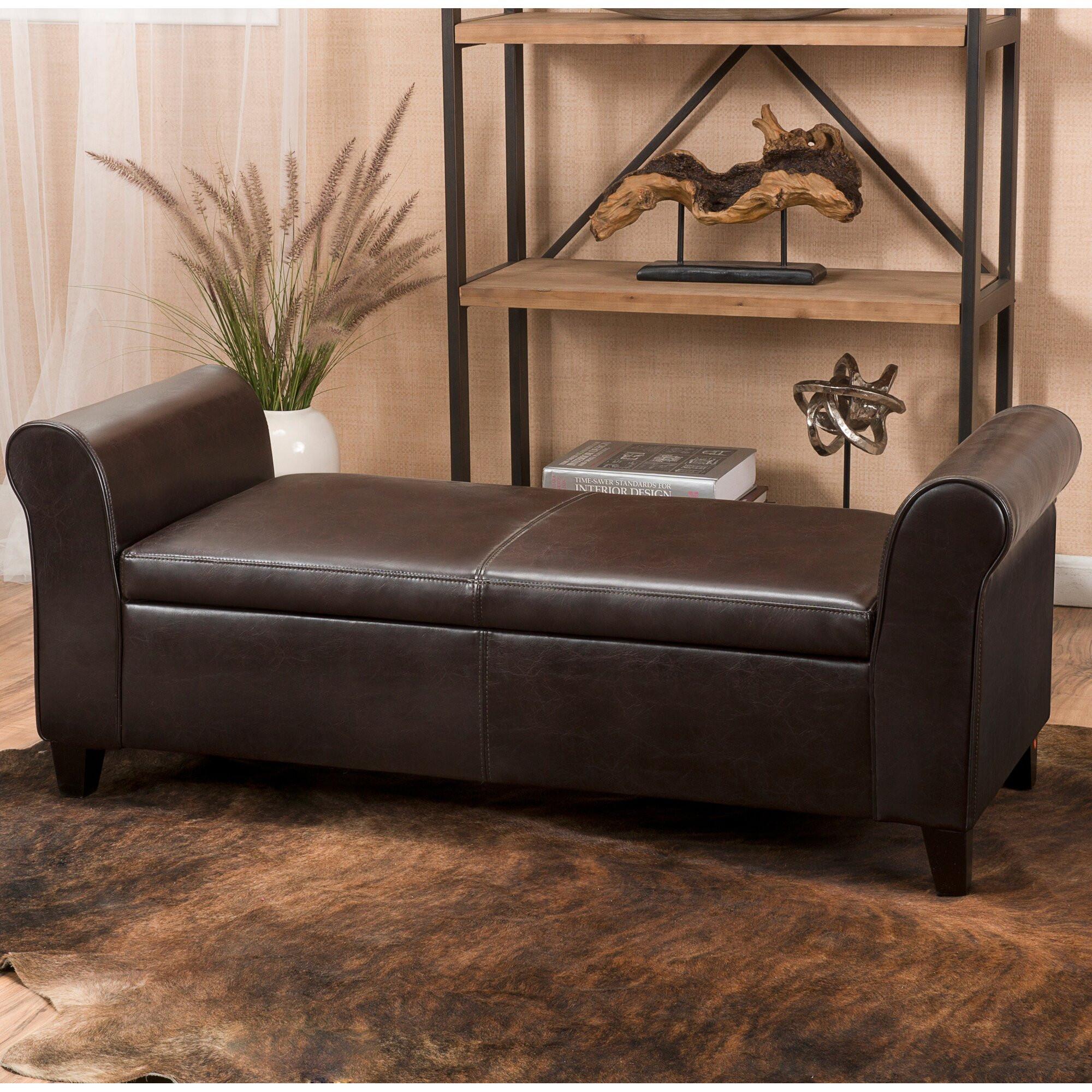 Storage Bench Bedroom  Varian Upholstered Storage Bedroom Bench & Reviews