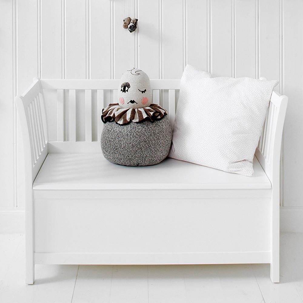 Storage Bench Kids  Kids Luxury Storage Bench in White Kids Furniture