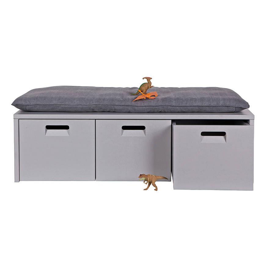 Storage Bench Kids  industrial kids locker storage bench by cuckooland