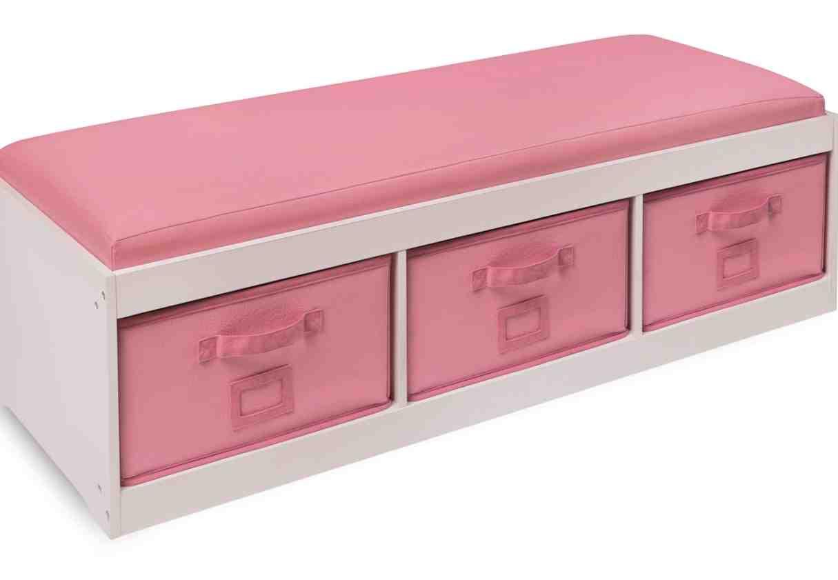 Storage Bench Kids  Kids Storage Bench with Cushion Home Furniture Design