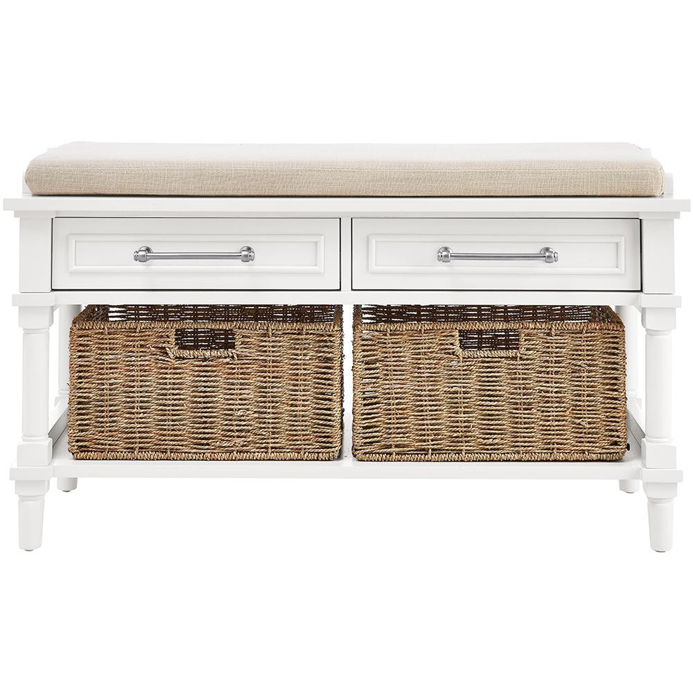 Storage Benches White Inspirational Home Decorators Collection Aberdeen Polar White Storage