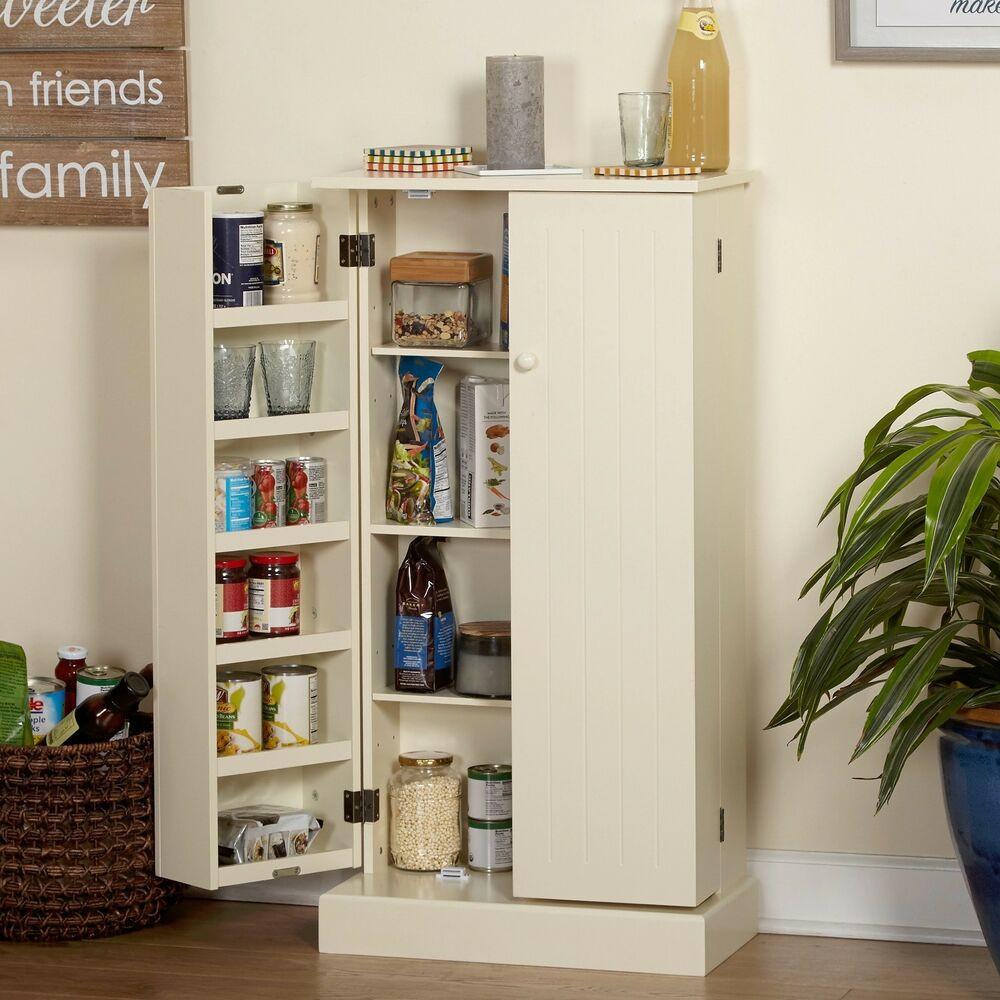 Storage Cabinet Kitchen  Kitchen Storage Utility Cabinet Food Organizer Cupboard