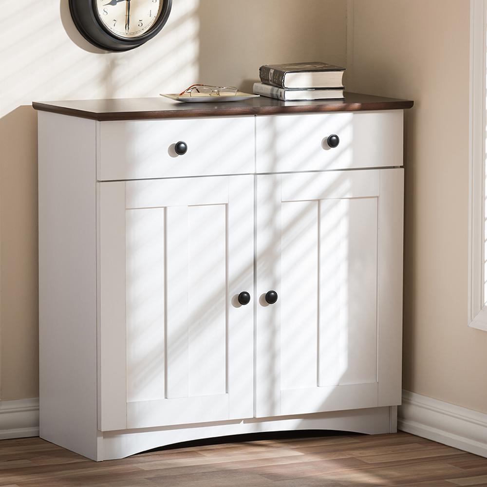 Storage Cabinet Kitchen  Baxton Studio Lauren Contemporary 30 42 in H x 31 2 in W