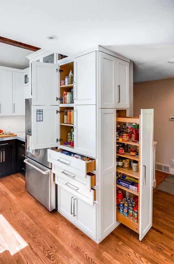 Storage Cabinet Kitchen  Kitchen saving storage solutions – useful ideas for pantry