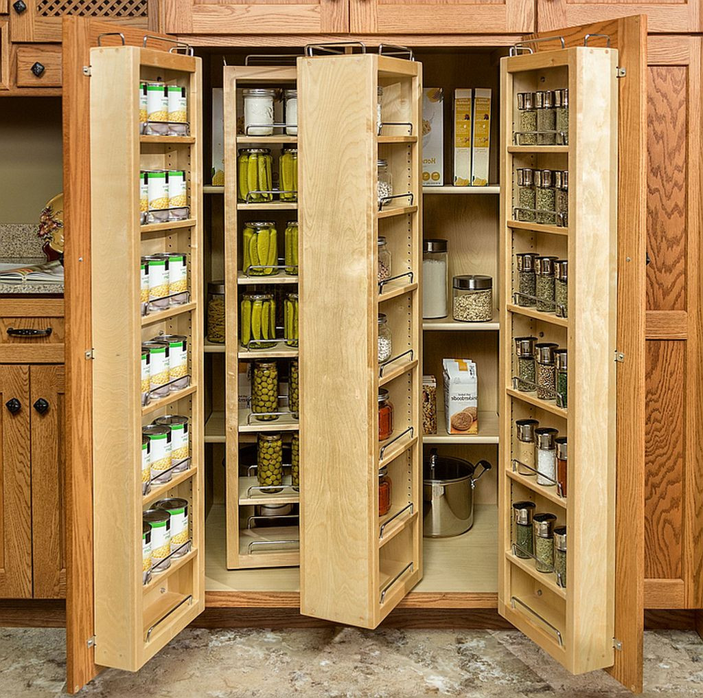 Storage Cabinet Kitchen  Wood Storage Cabinets With Doors and Shelves