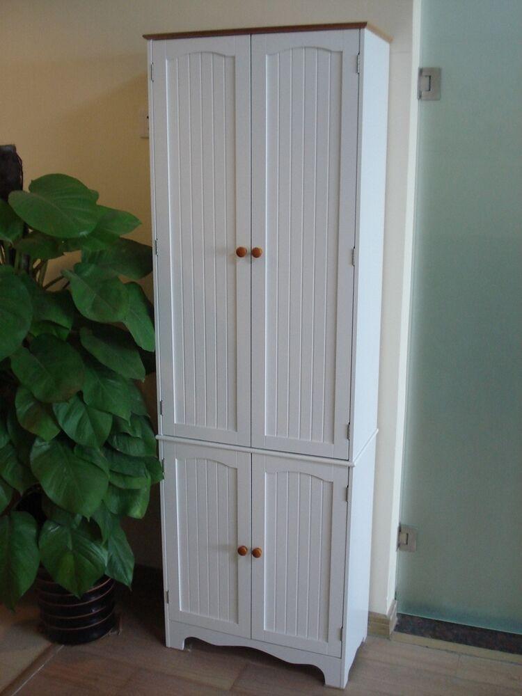 Storage Cabinet Kitchen  Kitchen Pantry Linen Storage Cabinet Cupboard Bathroom