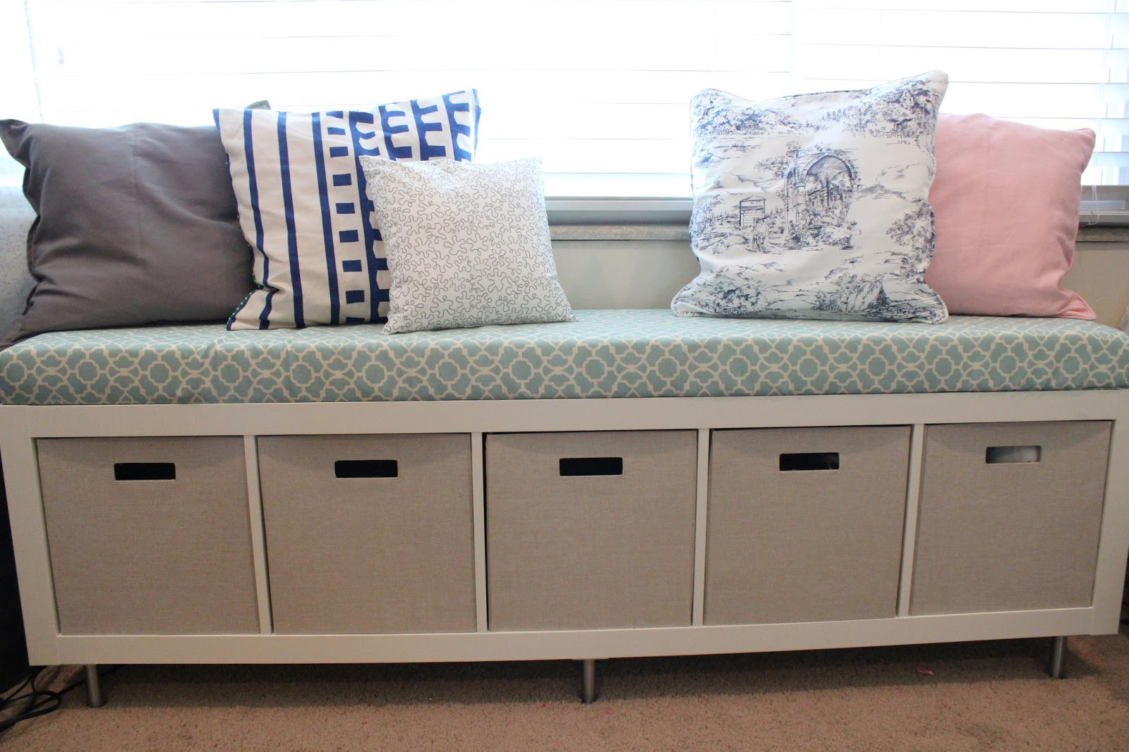 Storage Window Bench Awesome Mommy Vignettes Ikea Window Bench Storage Containers