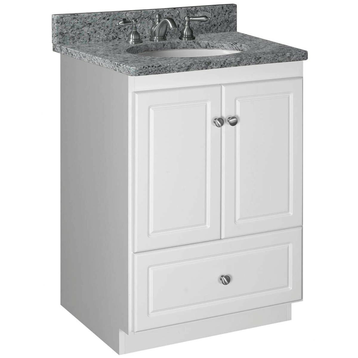 """Strasser Bathroom Vanities  Strasser Woodenworks Simplicity 24"""" Bathroom Vanity Base"""