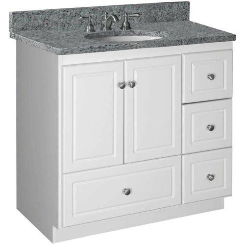"""Strasser Bathroom Vanities  Strasser Woodenworks Simplicity 36"""" Bathroom Vanity Base"""