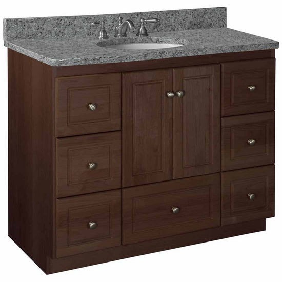 "Strasser Bathroom Vanities  Bathroom Vanities Strasser Woodenworks 42""W Simplicity"
