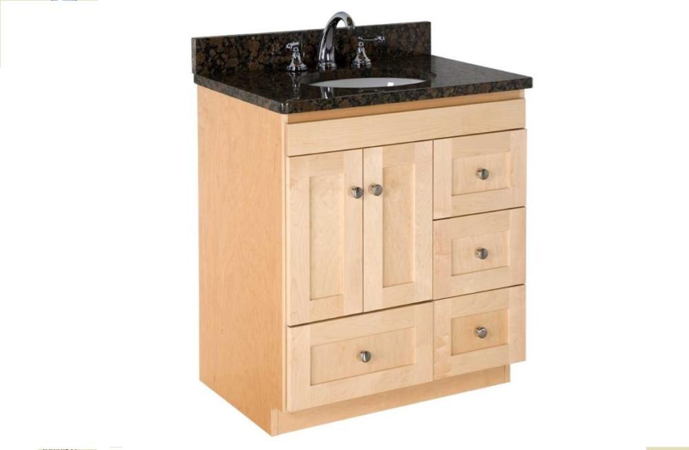 "Strasser Bathroom Vanities  Strasser Woodenworks 30"" Montlake Vanity 7 Door Styles"
