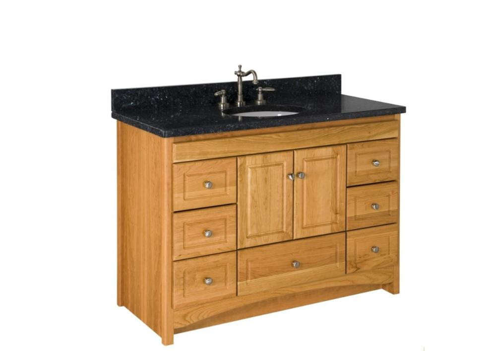 "Strasser Bathroom Vanities  Strasser Woodenworks 48"" Ravenna Vanity 7 Door Styles 15"