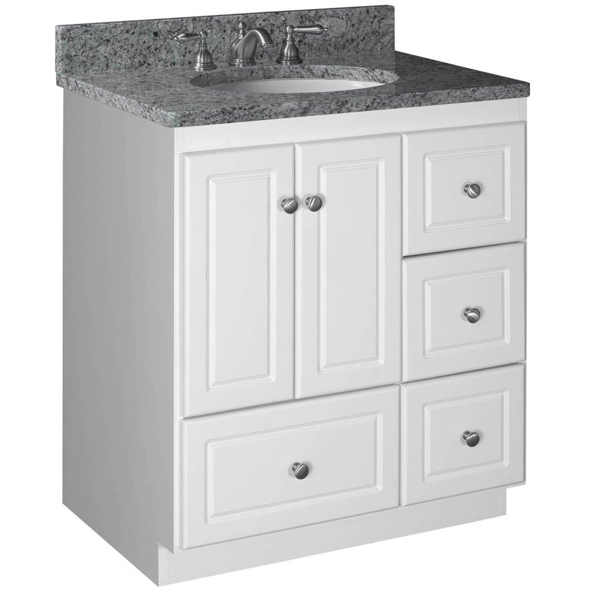 """Strasser Bathroom Vanities  Strasser Woodenworks Simplicity 30"""" Bathroom Vanity Base"""