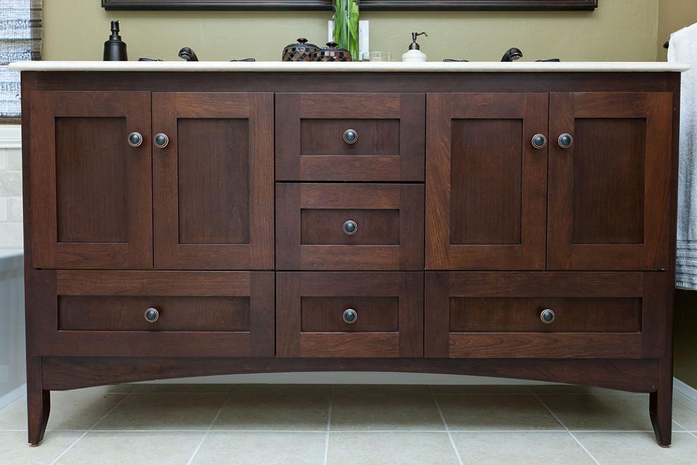 Strasser Bathroom Vanities  Cool strasser woodenworks in Bathroom Traditional with