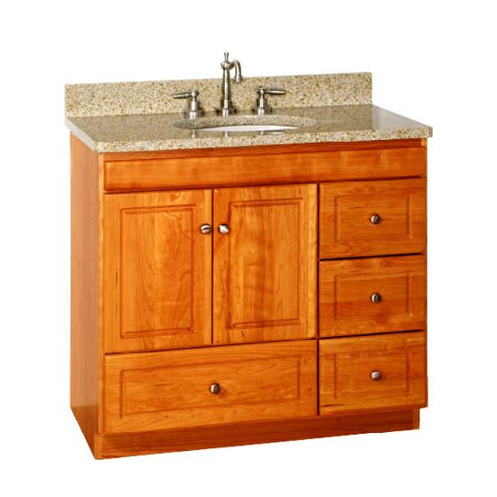 Strasser Bathroom Vanities  Strasser Woodenworks Ultraline 36 Inch Bathroom Vanity