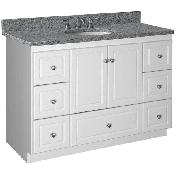 """Strasser Bathroom Vanities  Strasser Woodenworks Simplicity 48"""" Bathroom Vanity Base"""