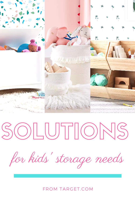 Target Kids Storage  Kids Storage Solutions from Tar in 2020