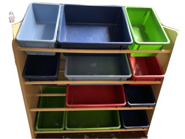 Target Kids Storage  Tar 4 Tier Kids Toy Storage Organizer Rack w 12 Bins