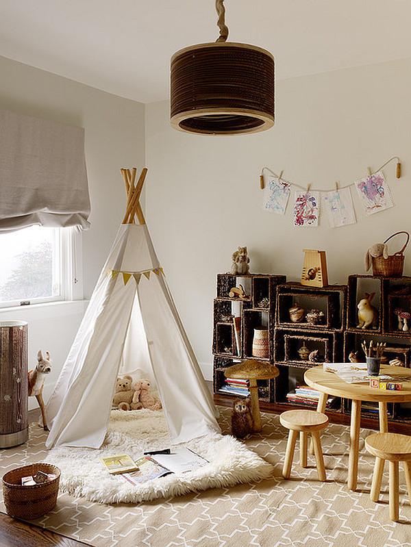Tent For Kids Room  Kids room designs that celebrate childhood