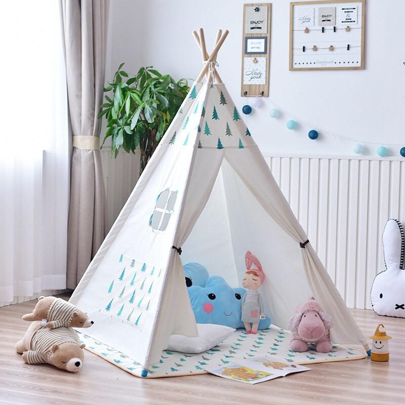 Tent For Kids Room  YARD Kids Tent Big Room 120 120 145cm Wooden Bracket Baby