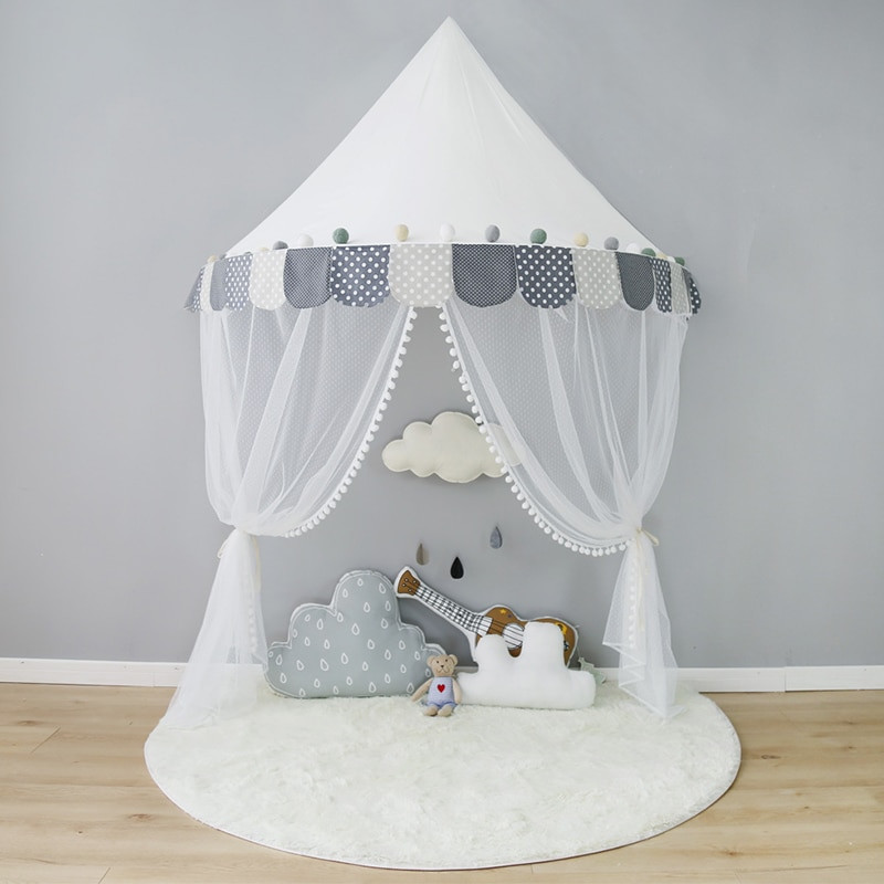 Tent For Kids Room  Children Tent Cotton Play Tent For Kids Canopy Bed