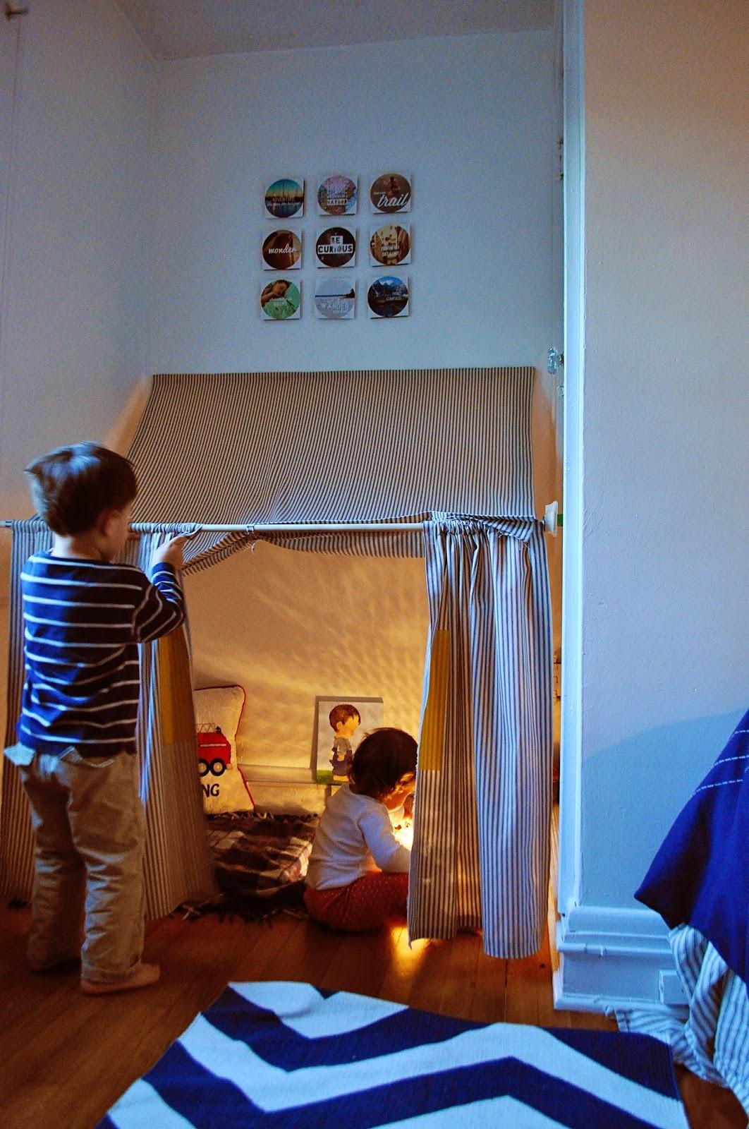 Tent For Kids Room  Ducklings In A Row Hair DIY Tutorials Indoor Tent How To