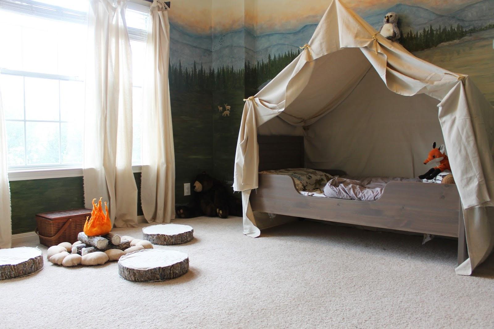 Tent For Kids Room  Remodelaholic