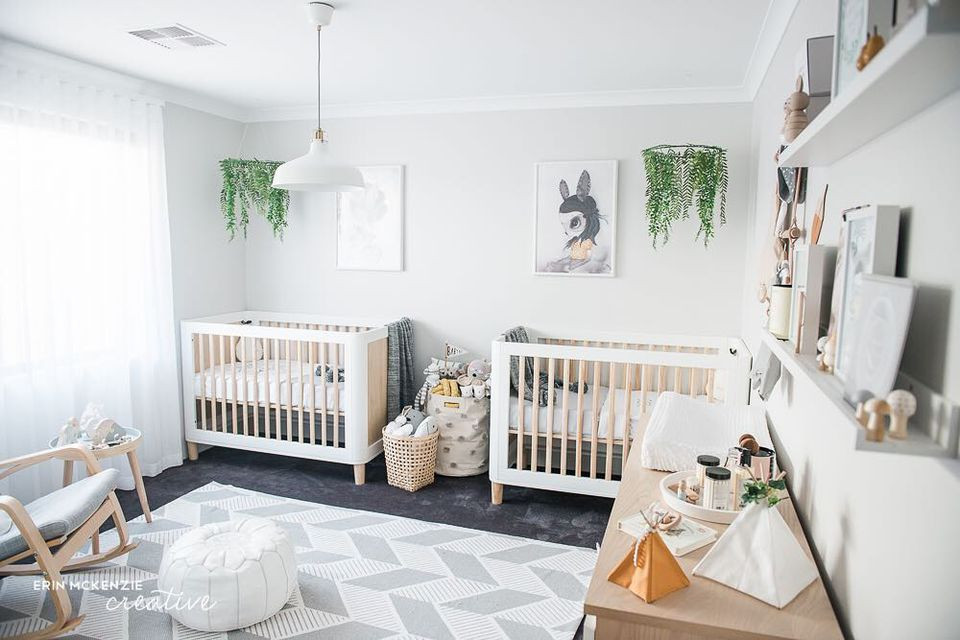 Twins Baby Room Decorating Ideas  16 Awe Inspiring Twin Nurseries