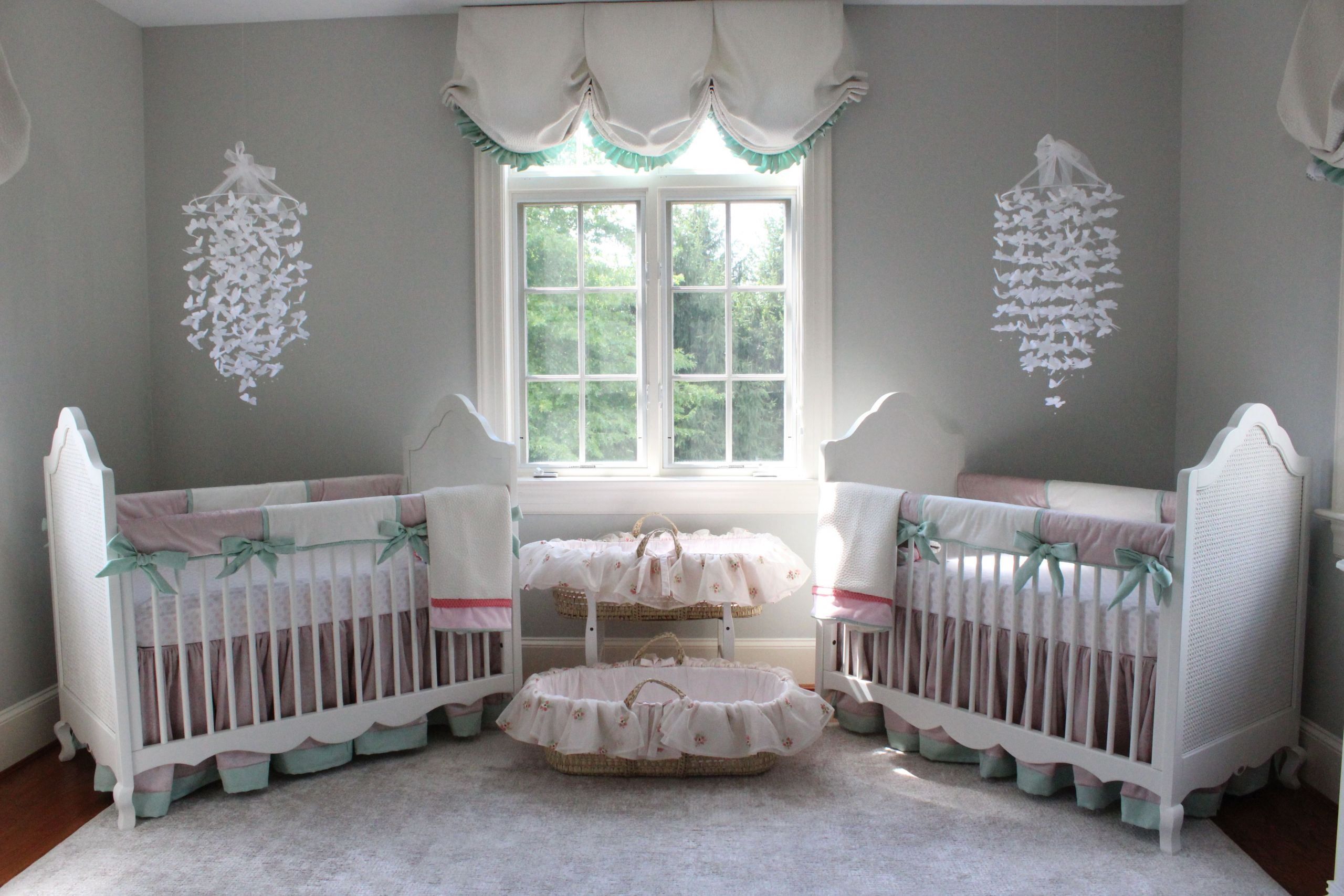 Twins Baby Room Decorating Ideas  Katz Twin Nursery Reveal