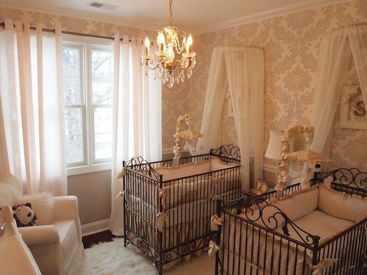 Twins Baby Room Decorating Ideas  27 best Nursery Decor images on Pinterest