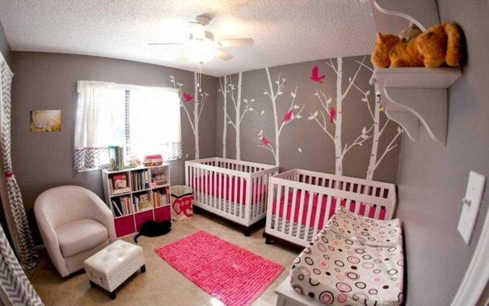 Twins Baby Room Decorating Ideas  20 Cute Twin Baby Nursery Designs