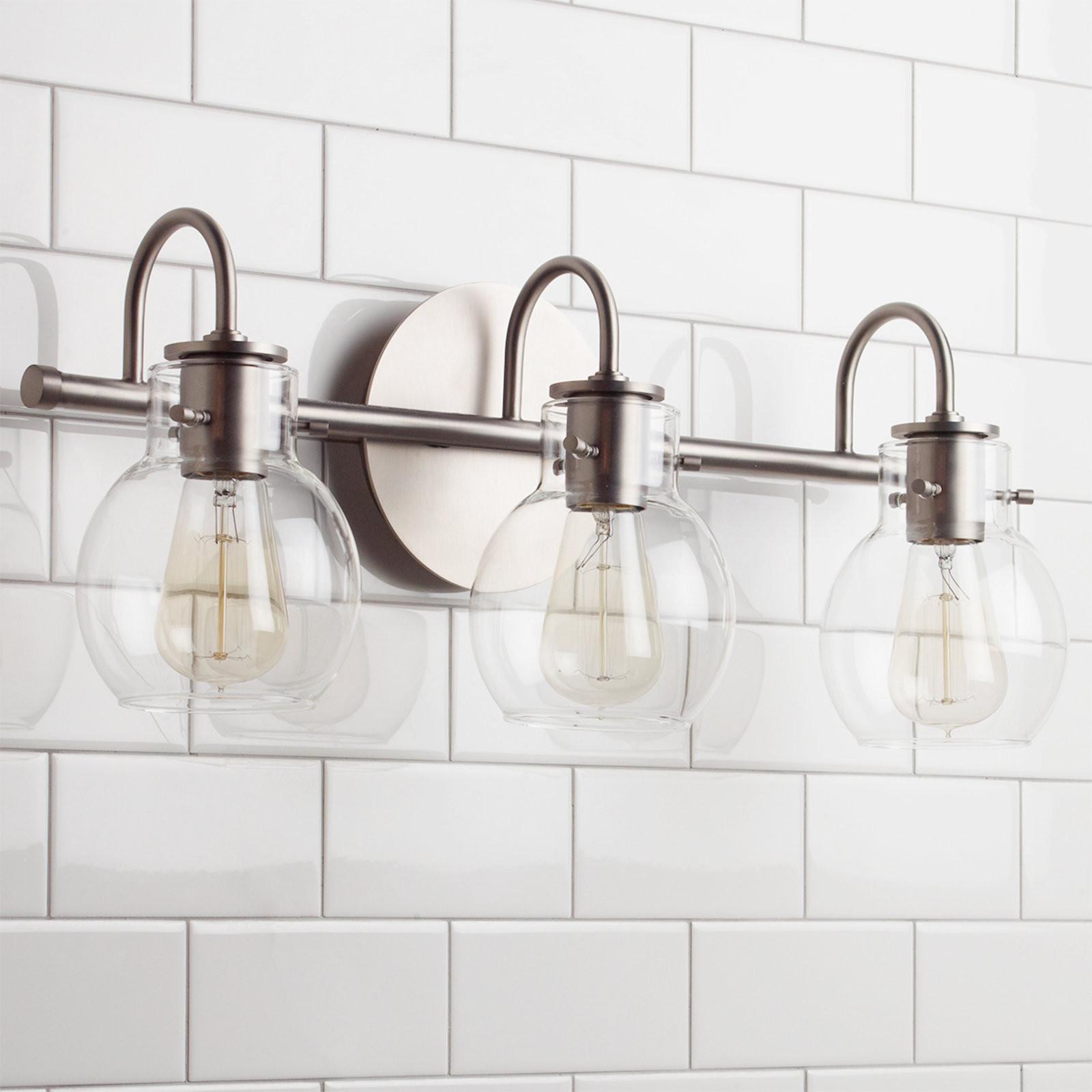 Vintage Bathroom Lights Luxury Vintage Arc Shade Bath Light 3 Light Shades Of Light