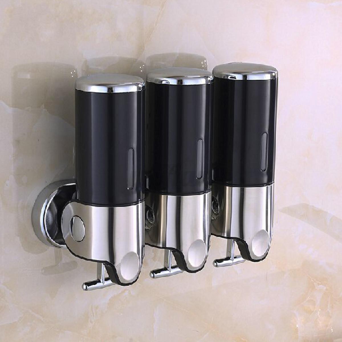 Wall Mounted Bathroom Soap Dispenser  Wall Mounted Soap Dispenser Toilet Bathroom Shampoo Liquid