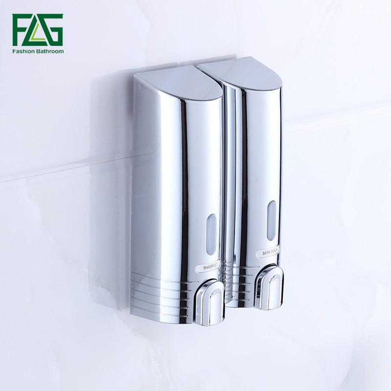 Wall Mounted Bathroom Soap Dispenser  Aliexpress Buy Double Soap Dispenser Wall Mounted